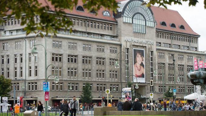Das Kaufhaus des Westens (KaDeWe) in der Tauentzienstraße am Wittenbergplatz in Berlin gehört zu den Premiumhäusern des Konzerns.