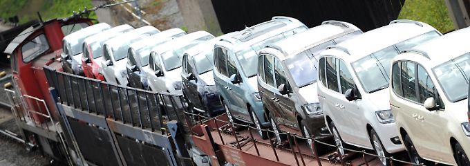 Auch der Marktführer Volkswagen muss Verluste einbüßen.