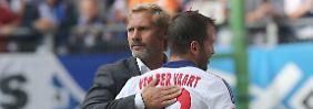 Hamburger SV feuert Trainer Thorsten Fink: Van der Vaart kann es nicht fassen