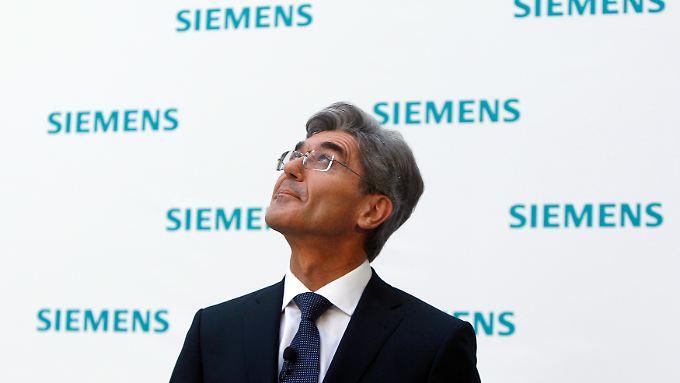 Das hatte sich der neue Siemens-Chef Joe Kaeser anders gedacht.