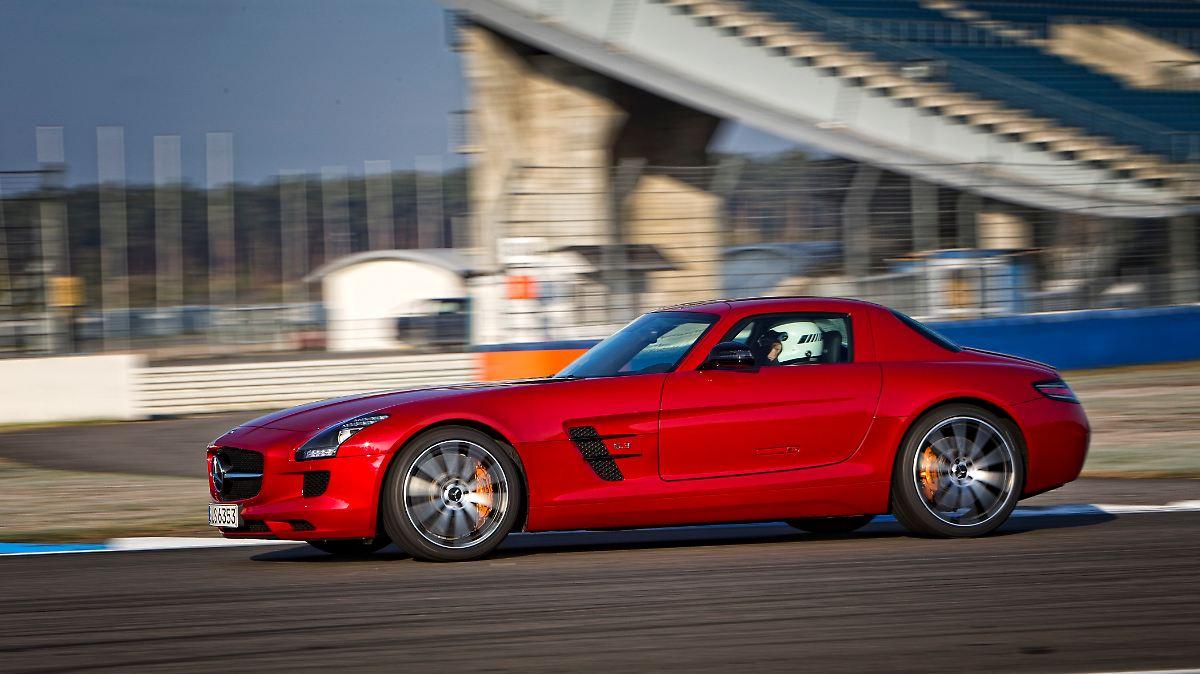 Mercedes SLS AMG geht in Rente