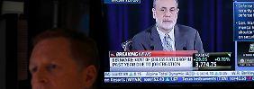 Dow bejubelt das billige Geld: Fed sorgt für Champagner-Laune