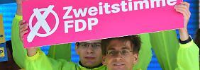 FDP wirbt um Zweitstimmen: Wer sollte seine Stimme splitten?