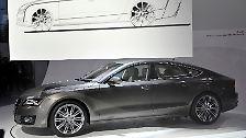Im Bann des Designs: Audi zeigt den A7