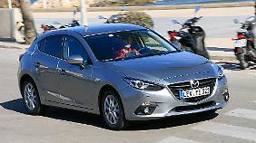 Den Fünftürer bevorzugen 90 Prozent der deutschen Mazda 3-Kunden.