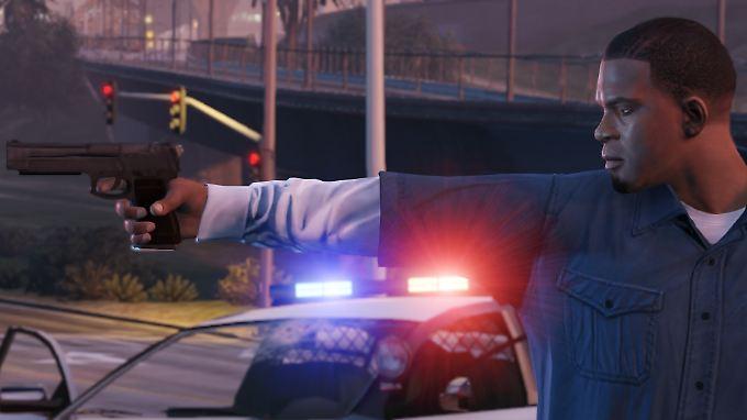 Gangster, Autos, Polizei - das Erfolgsrezept von GTA.
