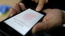 Hacker knacken Scanner des iPhone 5S: Wie sicher ist Apples Touch ID wirklich?