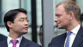 Rösler bietet Rücktritt an: Lindner steht in den Startlöchern
