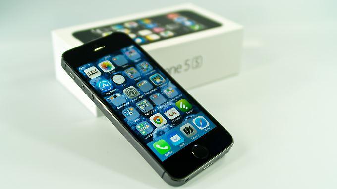 Das vier Jahre iPhones 5s ist das älteste Apple-Handy, das noch ein Update auf iOS 11 erhalten hat.