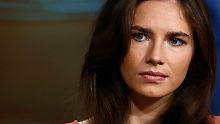 Rotkäppchen im Schwarzwald: So glücklich ist Amanda Knox