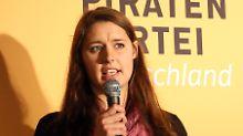 """Katharina Nocun glaubt weiter an die Piratenpartei: """"Jetzt machen wir es auf die harte Tour"""""""