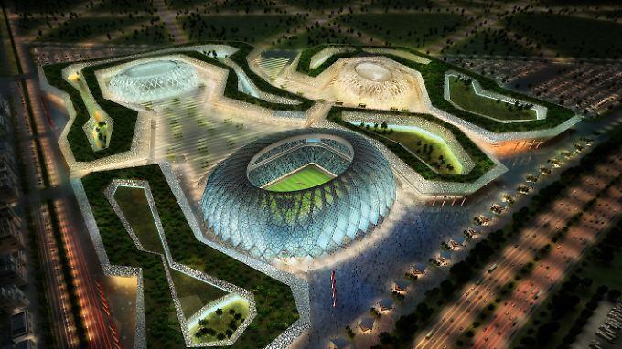Schwere Vorwürfe gegen Katar: 44 Menschen sterben auf Fußball-WM-Baustellen