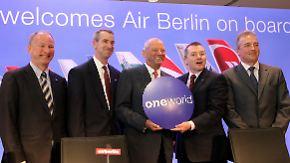 """Mit """"Oneworld Alliance"""" auf Expansionskurs: Air Berlin wächst mit Luftfahrtbündnis"""