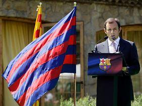 Frohe Finanzbotschaften konnte Barcelonas neuer Präsident Sandro Rosell noch nicht verkünden.