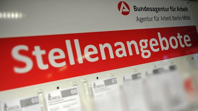 Der deutsche Arbeitsmarkt sei in einer guten Grundverfassung, meint BA-Vorstand Alt.