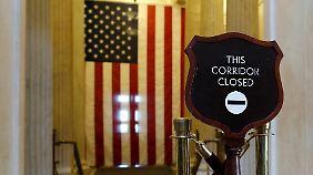 Zwangsurlaub für 800.000 Menschen: USA können Staatsbedienstete nicht mehr bezahlen