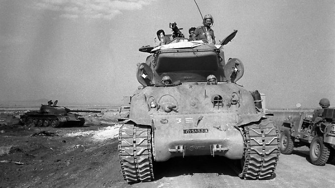 Der Jom-Kippur-Krieg entwickelte sich zum Trauma des noch jungen israelischen Staates.