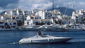 Keine Anzeichen der Wirtschaftskrise: In Marbella regiert der Luxus