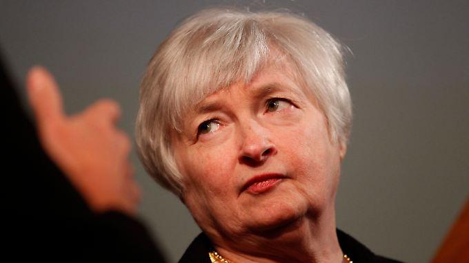 """Mit Janet Yellen stünde wieder eine """"Taube"""" an der Fed-Spitze."""
