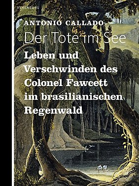 """""""Der Tote im See"""", erschienen bei Berenberg, 120 Seiten gebunden in Halbleinen, 20,00 Euro (D)."""