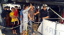 Nach dem Drama auf dem Mittelmeer: Flüchtlinge: Wir wurden angegriffen