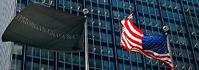 Die US-Großbank JP Morgan öffnet als erstes großes Geldinstitut seine Bücher.