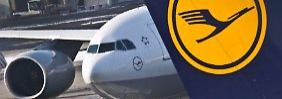 Lufthansa fliegt auf hartem Sparkurs.
