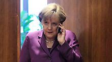 Das Telefon der Bundeskanzlerin galt bisher als abhörsicher.