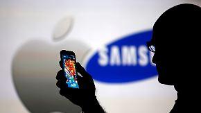 Patentstreit mit Apple schwelt weiter: Samsung bekommt Millionenstrafe aufgebrummt