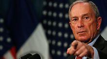Seine Gehaltsschecks hat er noch gar nicht eingelöst, sie hängen bei Michael Bloomberg an der Wand.