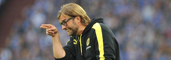 """""""Es war brutal harte Arbeit für alle."""" Dortmunds Trainer Jürgen Klopp nach dem 3:1-Sieg im Derby auf Schalke."""