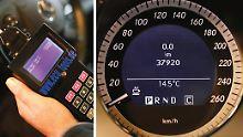 Studie soll Anschuldigung belegen: ADAC: Autoindustrie befördert Tachobetrug