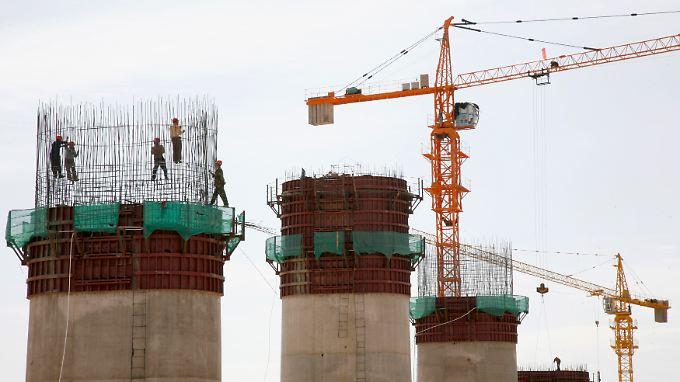Investitionen in die Infrastruktur sind Teil des chinesischen Konjunkturprogramms.