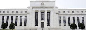 Schon vor der regulären Sitzung diskutierte die Fed via Videokonferenz.