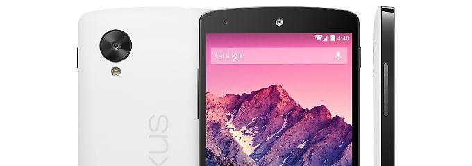 Nexus-5-Smartphone von Google.