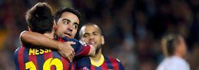 Rekordmann: Keiner siegte öfter in der Champions League als Barcelonas Xavi.