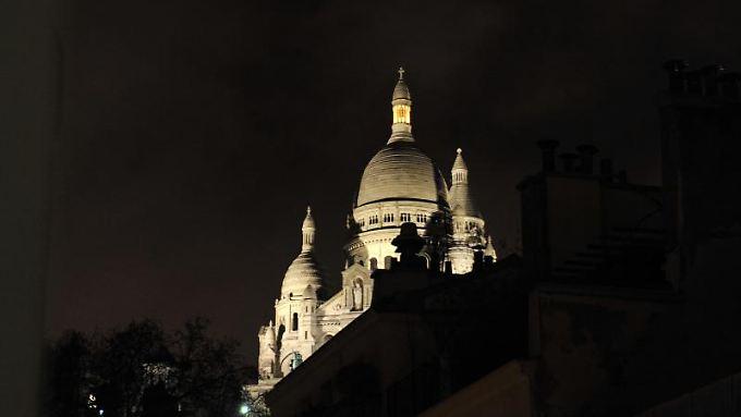 Blick auf die Basilika Sacre Coeur in Paris. Foto: Andreas Gebert