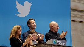 Trotz fehlenden Geschäftsmodells: Anleger reißen sich um Twitter-Aktie