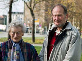 Elisbaeth Baewer und Herbert Wargenau sind heute 83 Jahre alt.