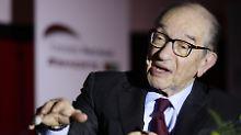 """Politische Union """"der einzige Weg"""": Ex-Fed-Chef Greenspan zweifelt am Euro"""