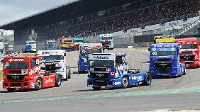 Der ADAC Truck Grand Prix auf dem Nürbrugring ist ein Zuschauermagnet.