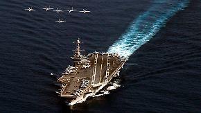 """Hilfe auf dem Weg: """"USS George Washington"""" kurz vor den Philippinen"""