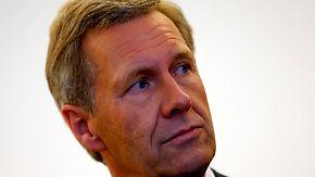 Prozess gegen Ex-Bundespräsident: Wulff weist alle Schuld von sich