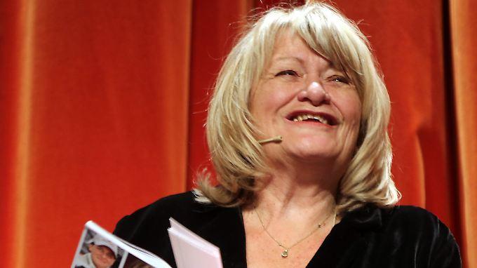 Hatte zu Beginn der Veranstaltung noch gut lachen: Alice Schwarzer