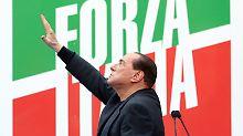 Nach Spaltung seiner Partei: Berlusconi bekommt Letta nicht zu Fall