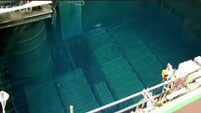 Hochbrisante Aktion: In Fukushima startet Bergung von 1500 Brennstäben