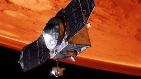 """""""Maven"""" untersucht Atmosphäre: Nasa schickt neue Sonde zum Mars"""