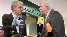 Tarek Al-Wazir und Volker Bouffier könnten bald Hessen regieren.