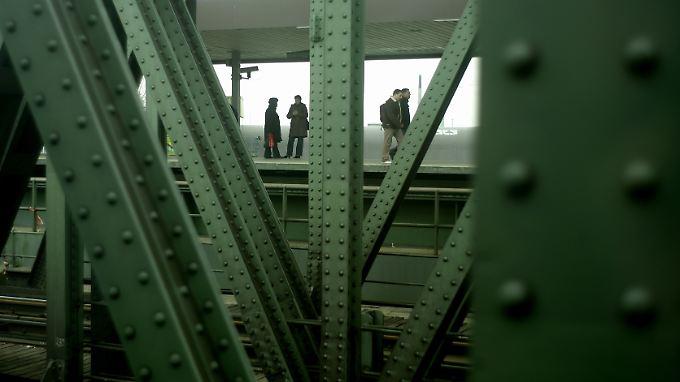 Viele Eisenbahnbrücken in Deutschland erinnern eher an Industriedenkmäler.