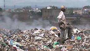 """""""Wir leben von Abfall"""": Kenianer bekriegen sich wegen Müll"""
